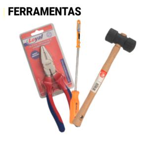 FERRAMENTAS E FERRAGENS